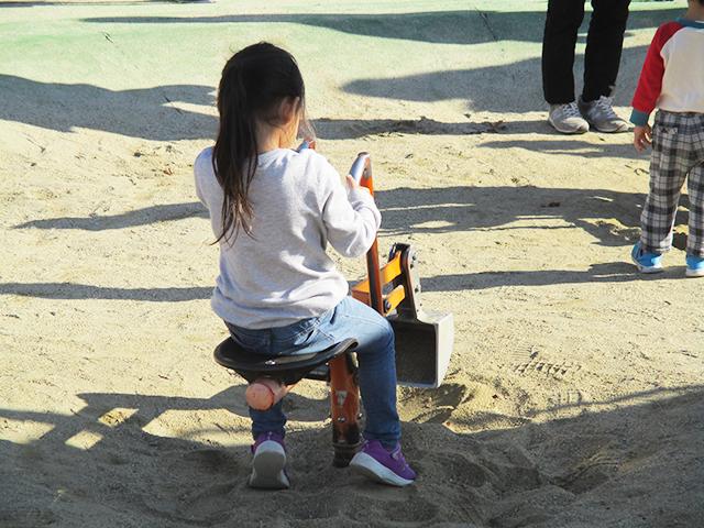 幼児遊具広場